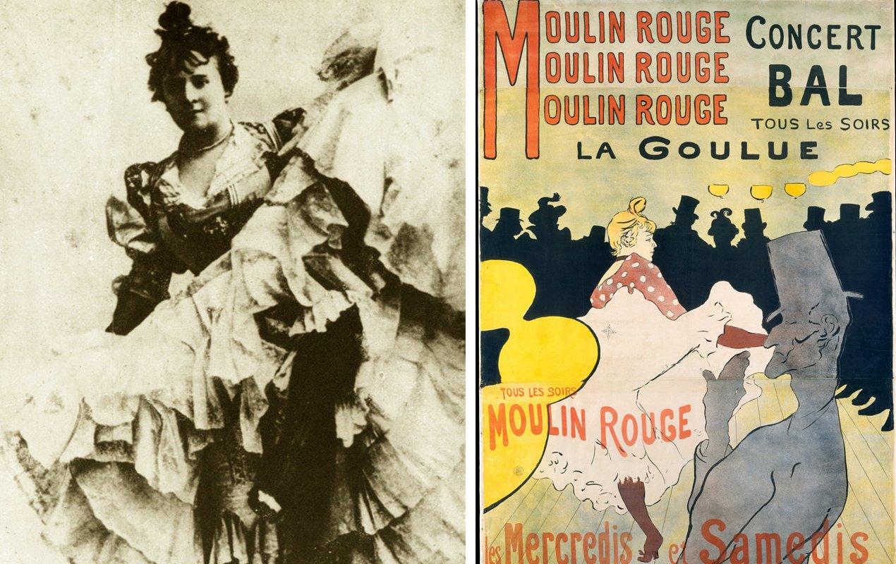 La Goulue and Lautrec