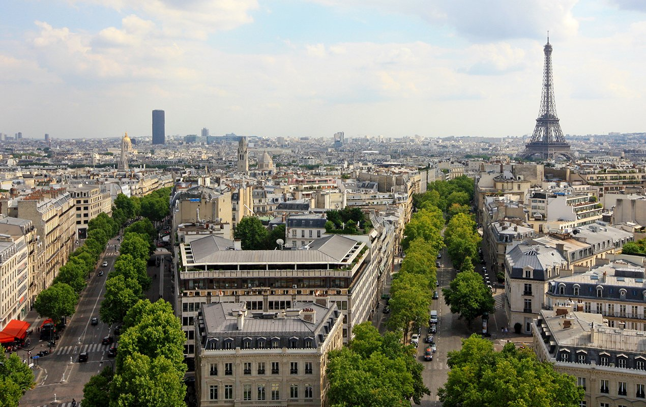Paris-veiw-Eiffel-Tower