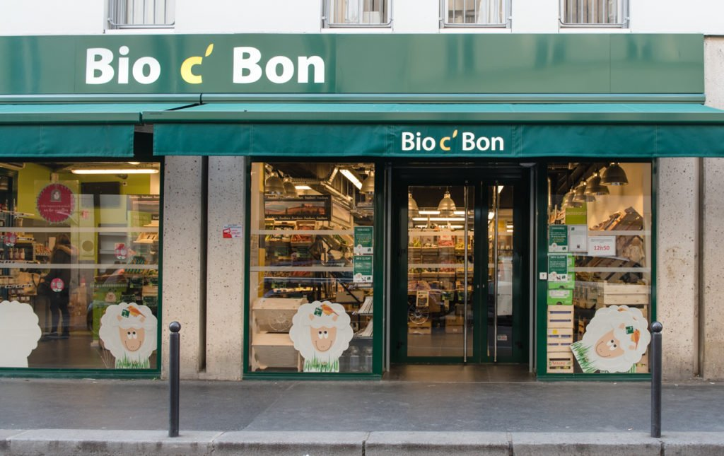 Health Food Store in Paris