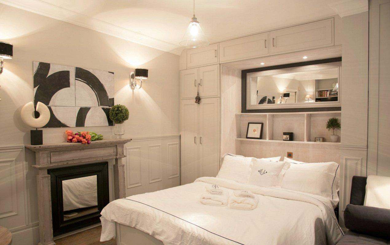 Project all white studio apartment perianth interior design new - Small Space Parisian Style How To Decorate A Studio Apartment With Interior Design Of Studio Apartments