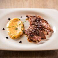 Seared Balsamic Duck Breast with Orange Zest + Wine Pairings | Paris Perfect