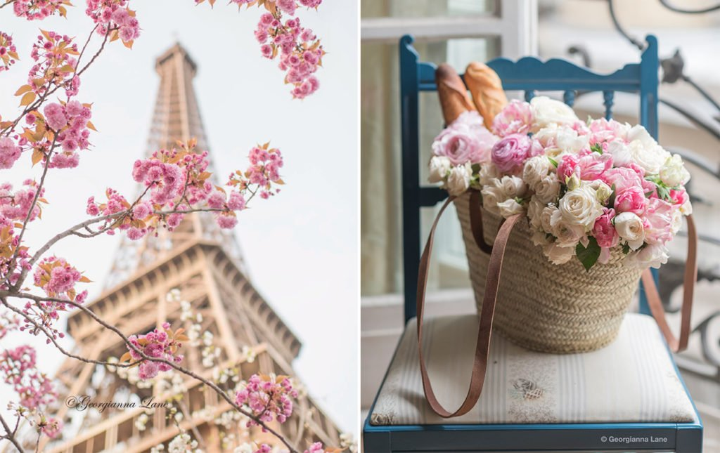 Paris in Bloom by Georgianna Lane | Paris Perfect