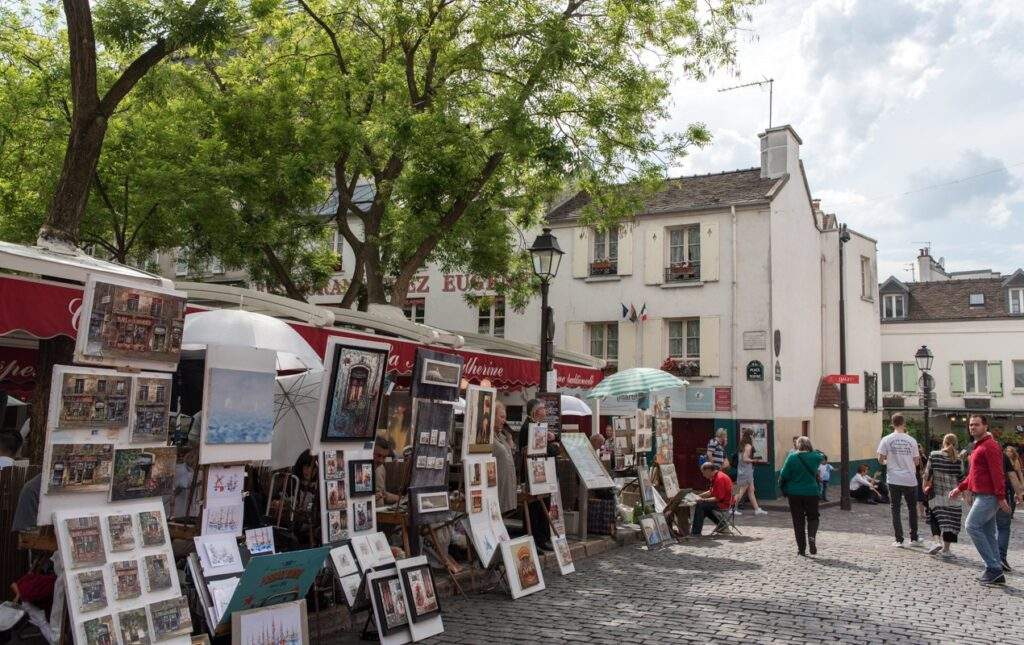 Some Interesting Facts About the Place du Tertre