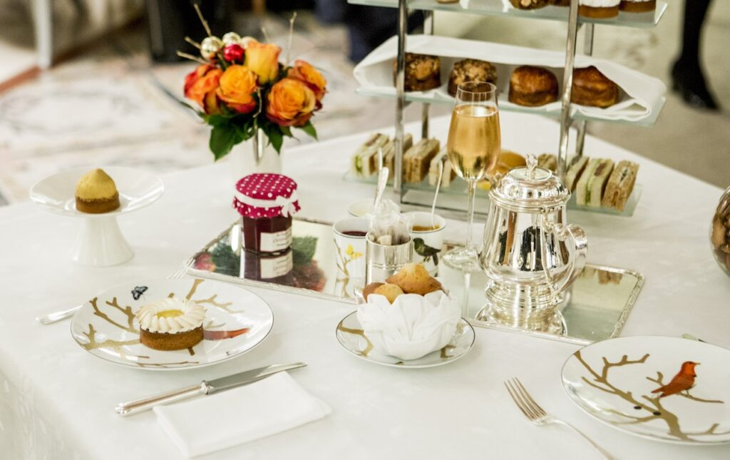Sweet & Savory Champagne Teatime at Le Meurice | Paris Perfect