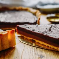 Recipe: Tarte au Chocolat with Salted Caramel | Paris Perfect