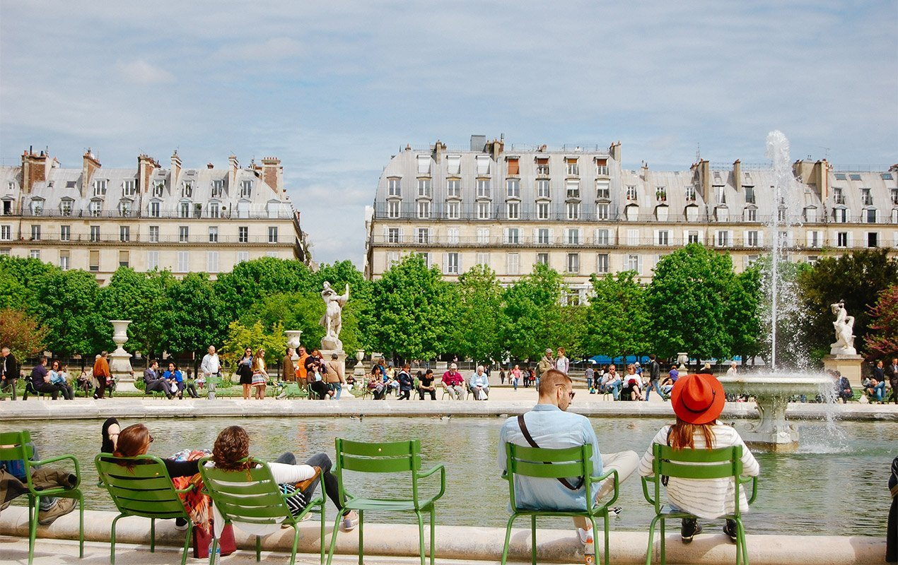 top 5 parks and gardens in paris paris perfect. Black Bedroom Furniture Sets. Home Design Ideas