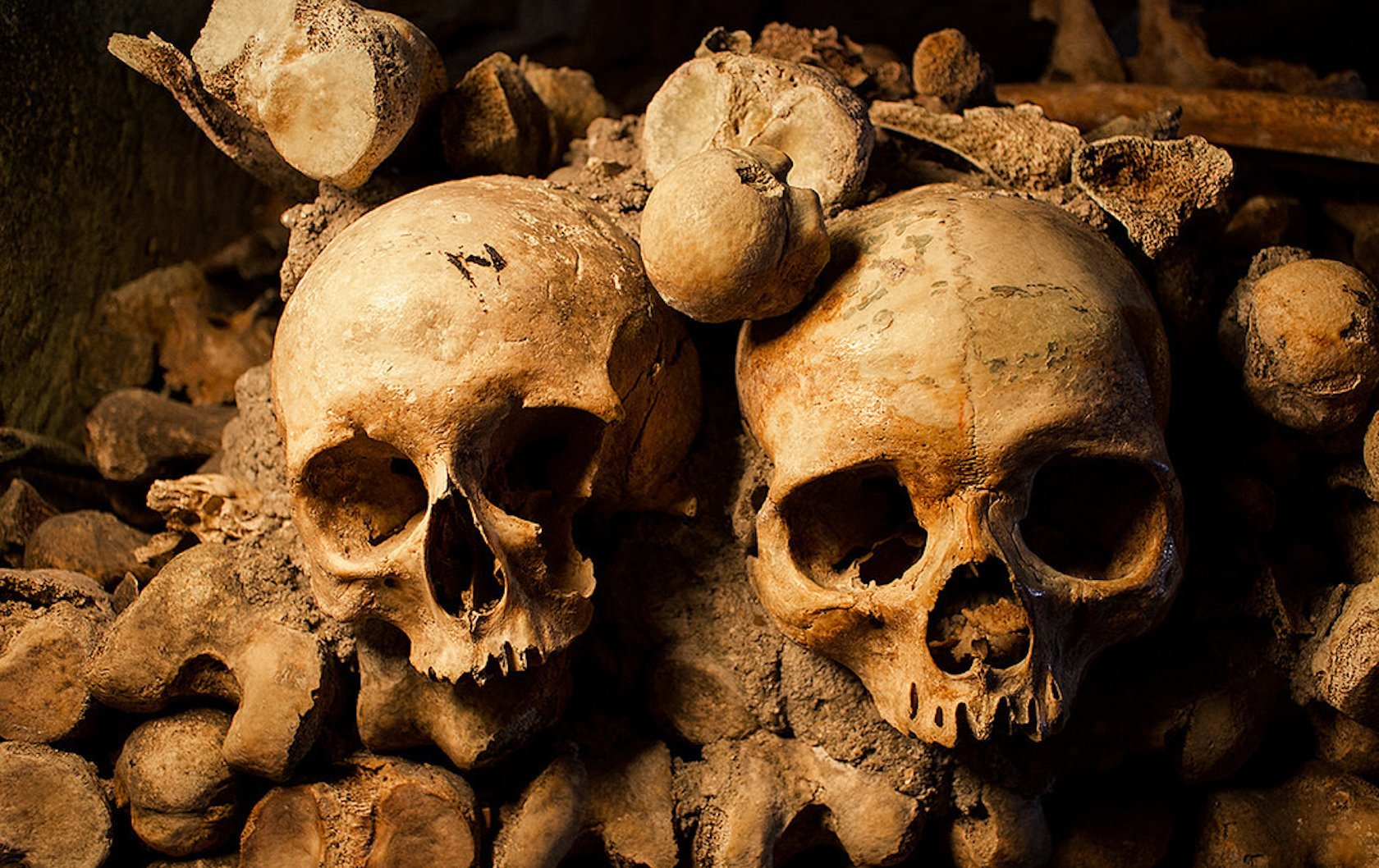 Braving The Catacombs And The Dark Underworld Of Paris