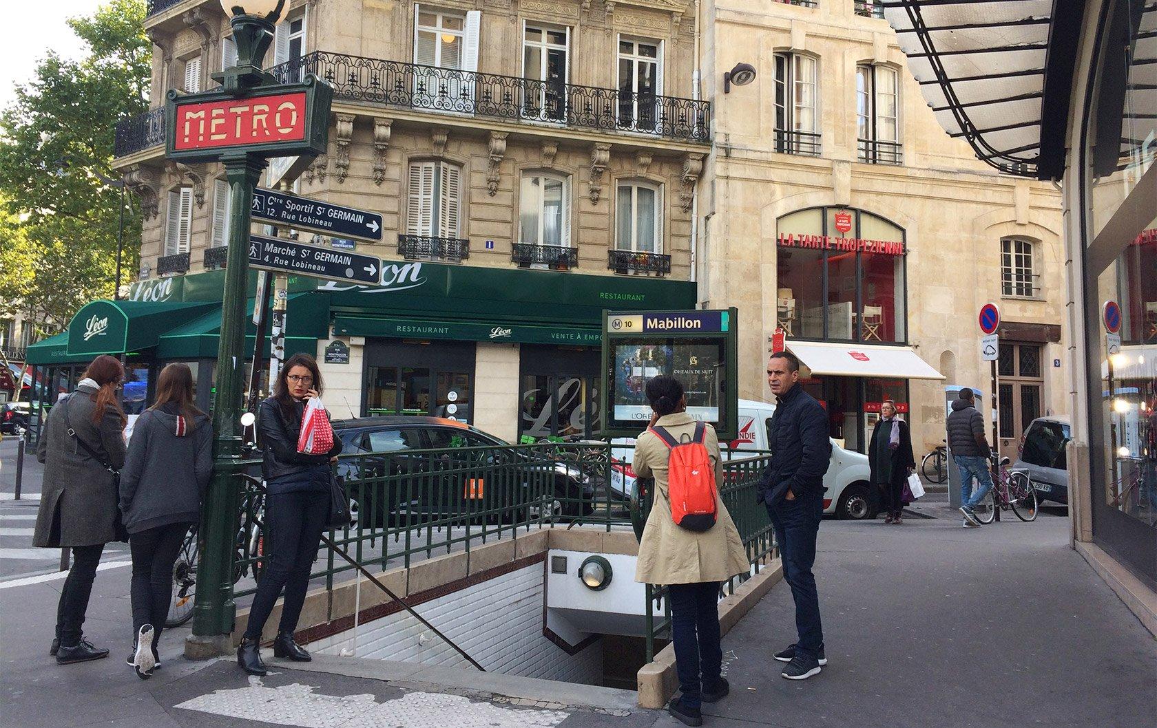 Cafe Near Mabillon Paris