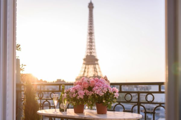 In Paris, sitting outside during beautiful weather is almost a requirement. As soon as the mercury hits a comfortable level, Parisians emerge en masse to people-watch and sip rosé on every street corner in the city. However, the loveliest locations are the ones you may not immediately spot. Here are some of our picks for the best places to eat outside in Paris- chateau-latour-view