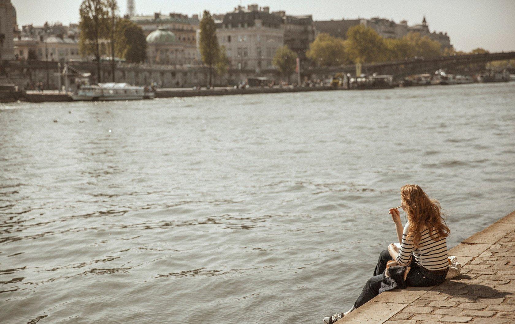 Amazing Video of Paris's River Seine Rising!