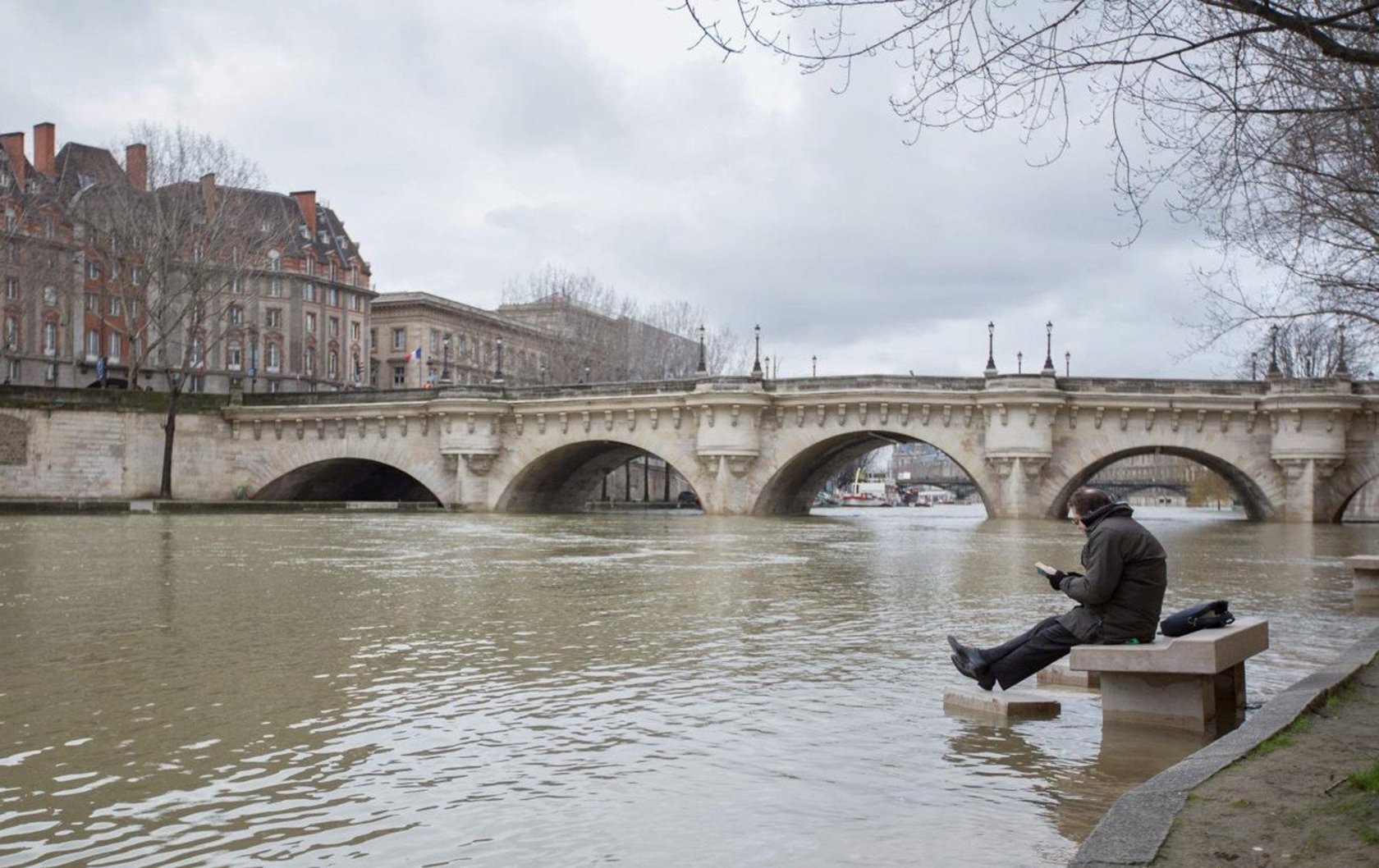 Amazing Video of Paris's River Seine Rising!