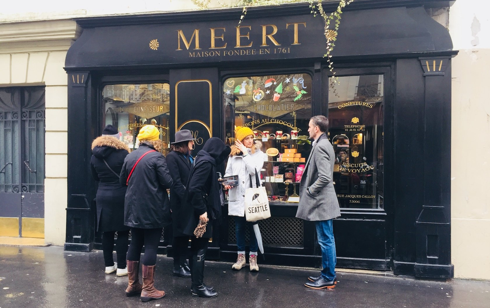 Pastries in Paris at Meert