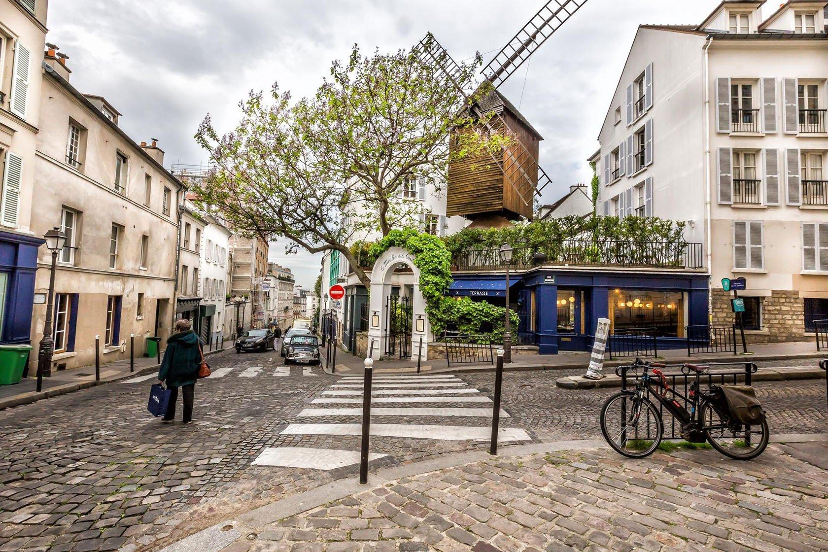 The Best Places to Eat Outside in Paris- Le Moulin de la Galette