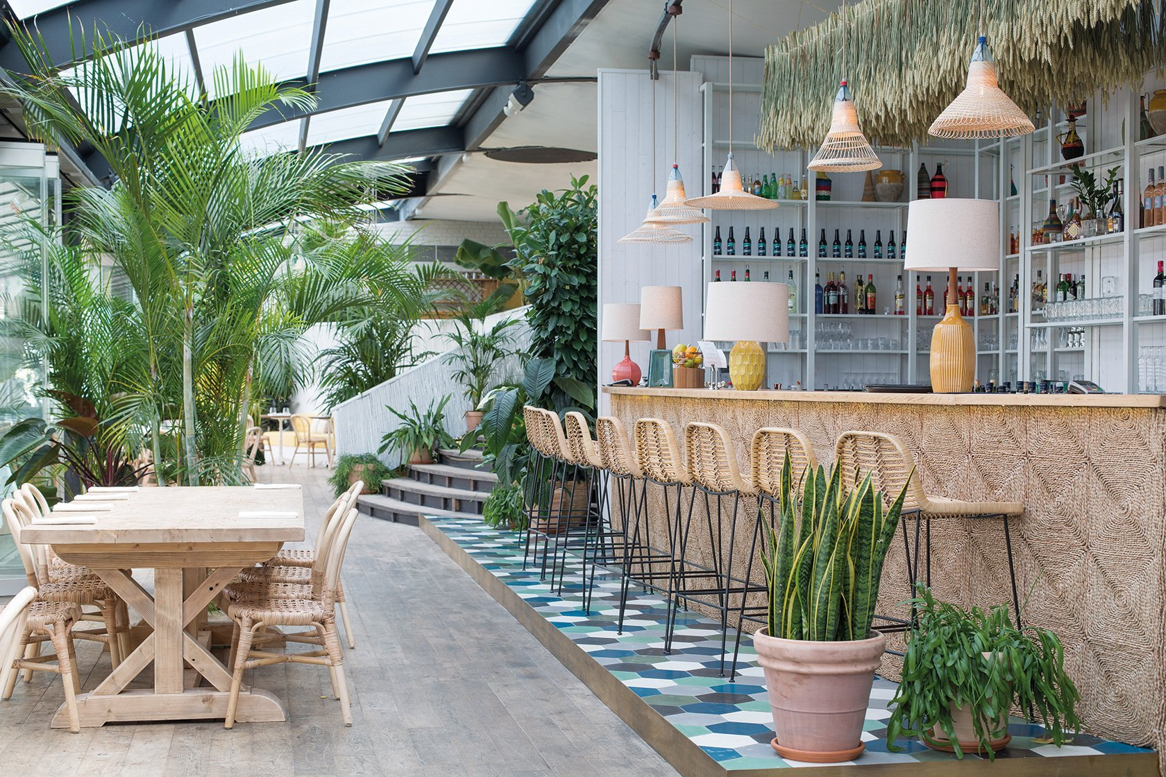 The Best Places to Eat Outside in Paris- Polpo Brasserie