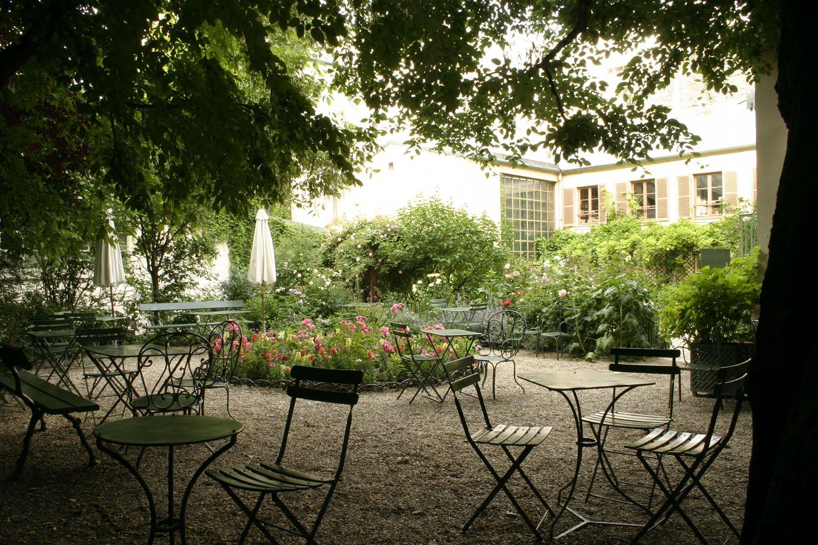 The Best Places to Eat Outside in Paris- Musee de la Vie Romantique, Photo by D. Messina