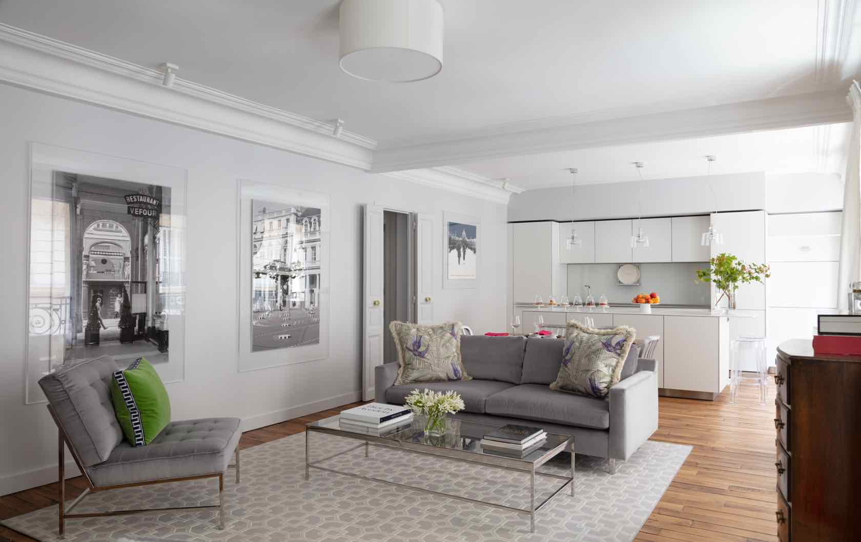 Buying and Renovating a Paris Apartment Saint Pourçain by Paris Perfect living room