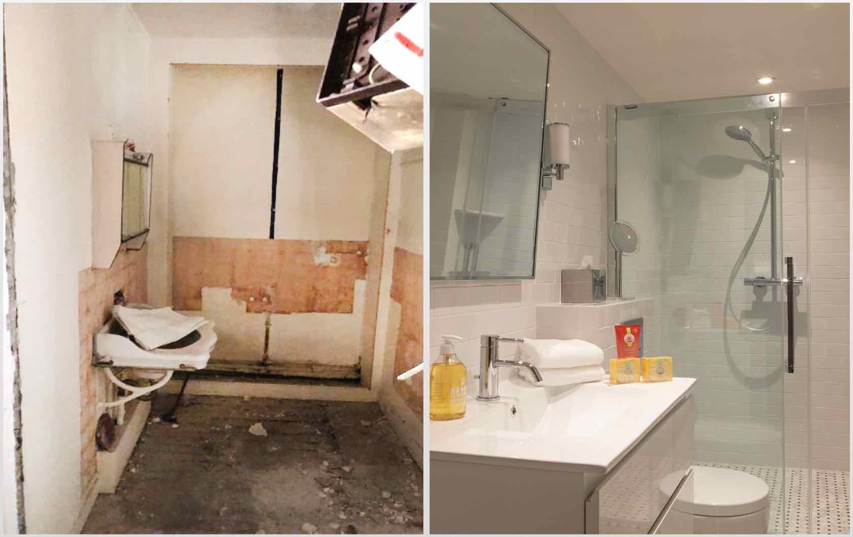 Buying and Renovating a Paris Apartment Saint Pourçain by Paris Perfect bathroom
