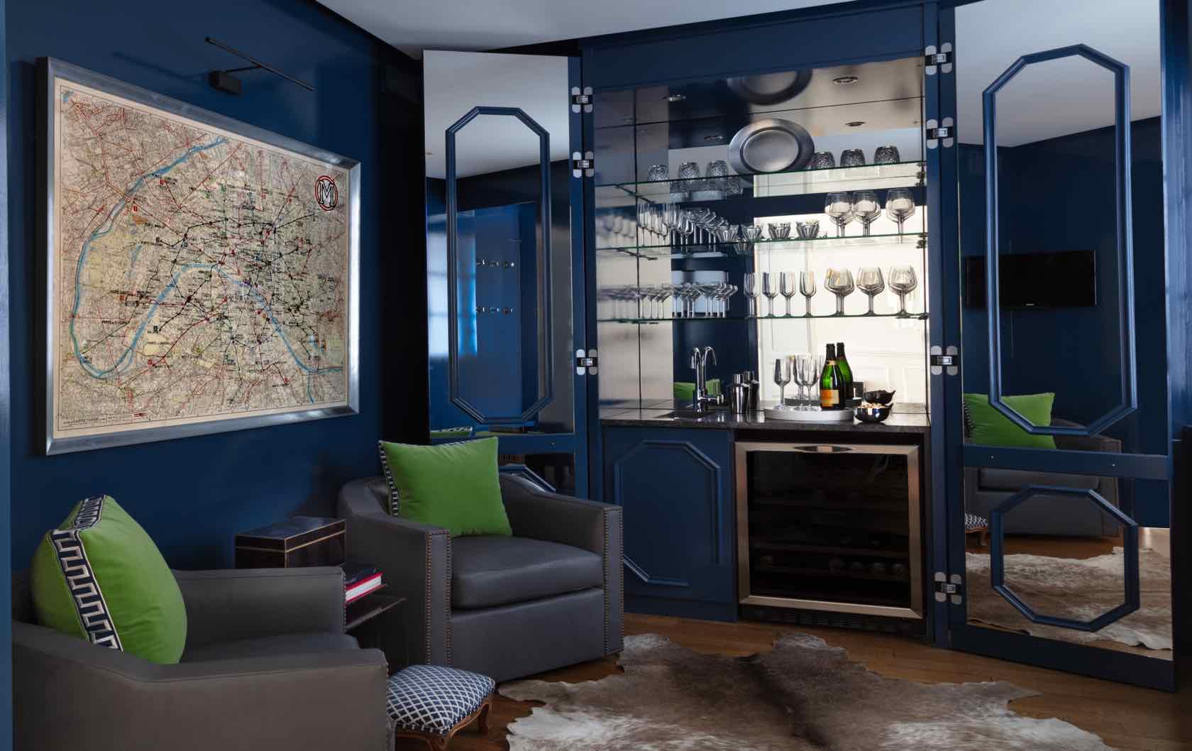 Buying and Renovating a Paris Apartment Saint Pourçain by Paris Perfect den