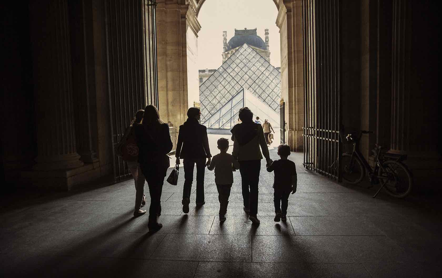 Fun things to do with the Family in Paris during the Summer Louvre Pyramid
