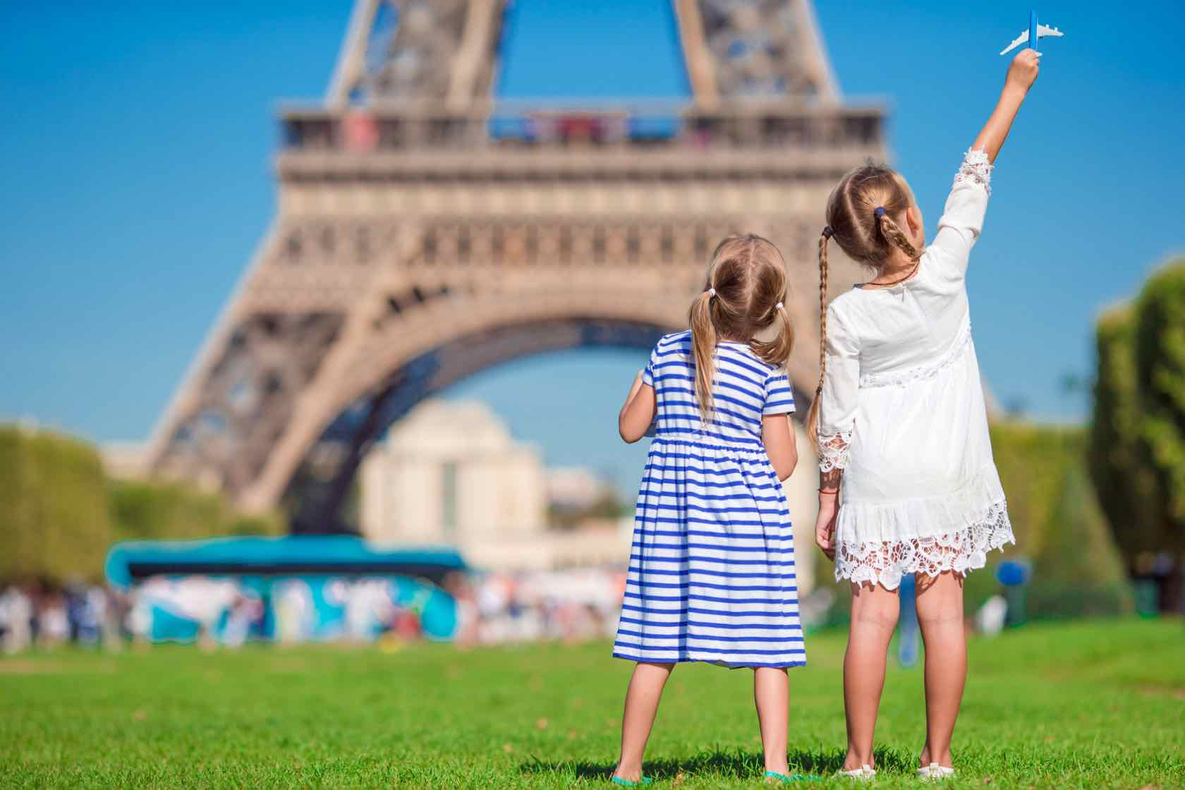 Fun things to do with the Family in Paris during the Summer by Paris Perfect Kids at Eiffel Tower