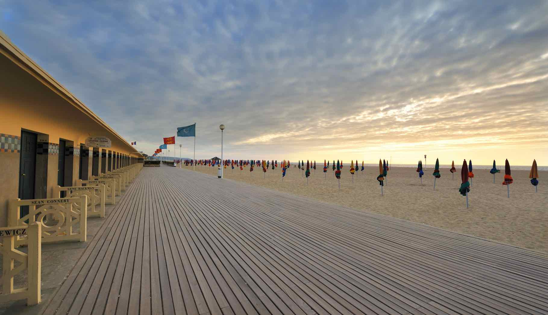 Introducing Our Vacation Rentals in Normandy France by Paris Perfect Deauville boardwalk