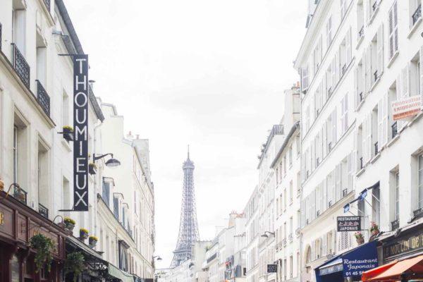 Shopping near the Eiffel Tower on Rue Saint-Dominique by Paris Perfect