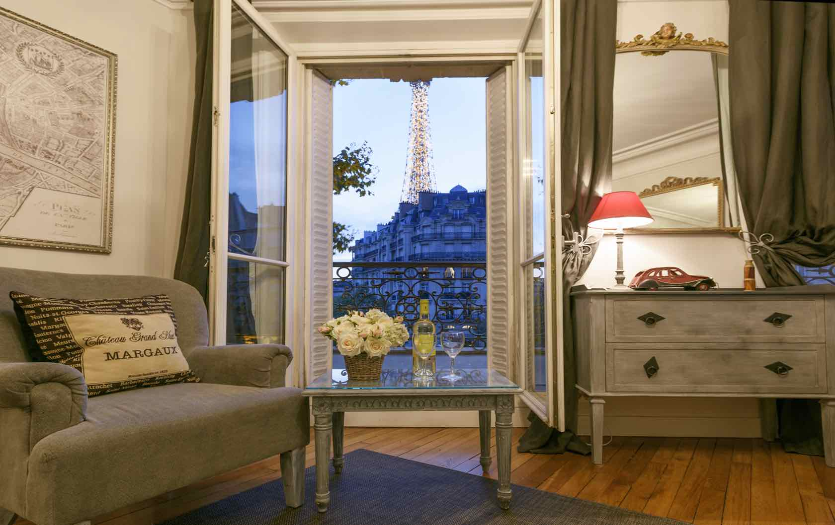Warm and Cozy Apartments in Paris for Fall and Winter Stays by Paris Perfect Volnay