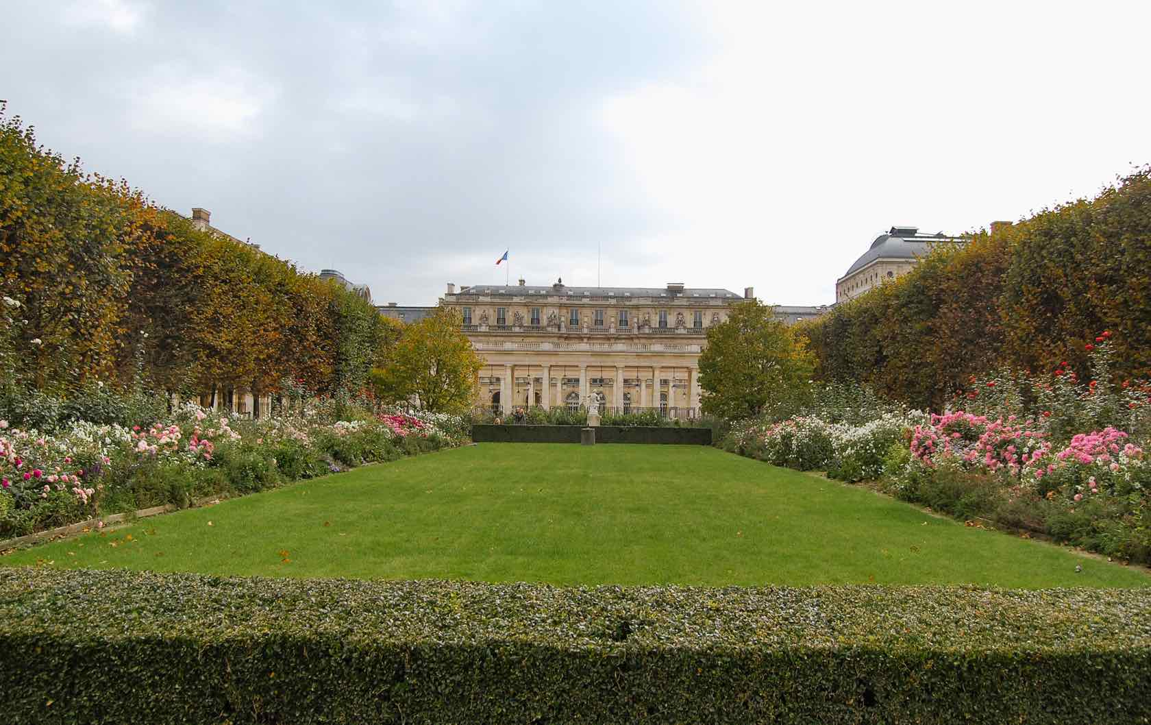 5 Places to see Fall Foliage in Paris by Paris Perfect Palais Royal