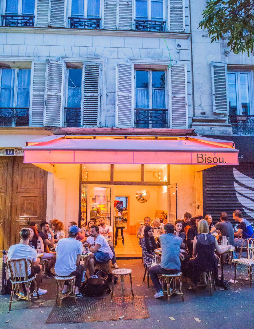 Bisou Paris- The Hottest Cocktail Bars in Paris