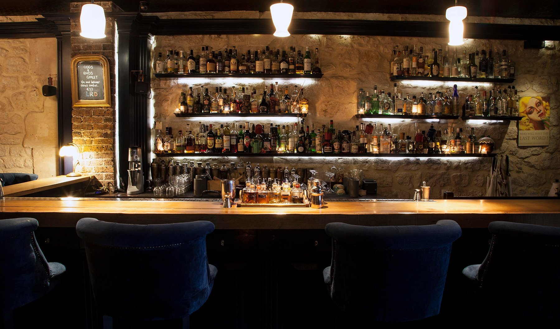 Little Red Door- The Hottest Cocktail Bars in Paris