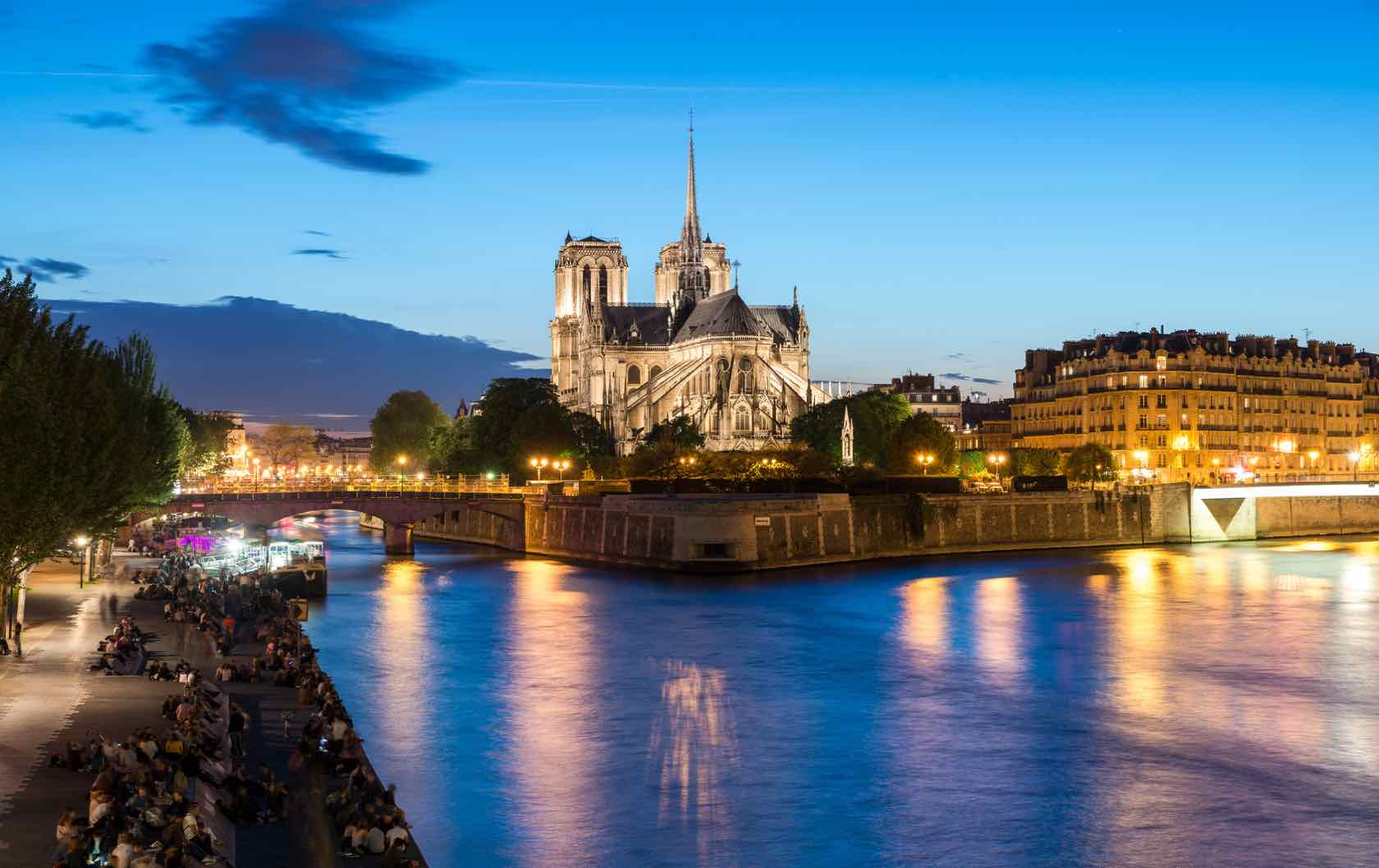 My Decade-Long Love Affair with Paris Perfect Notre Dame at night