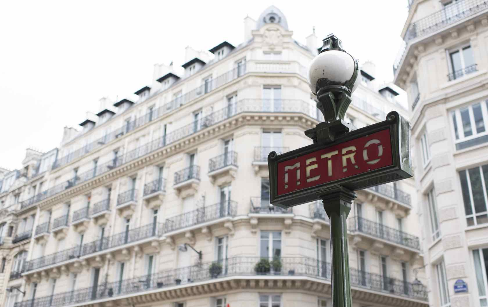 My Decade-Long Love Affair with Paris Perfect Metro sign