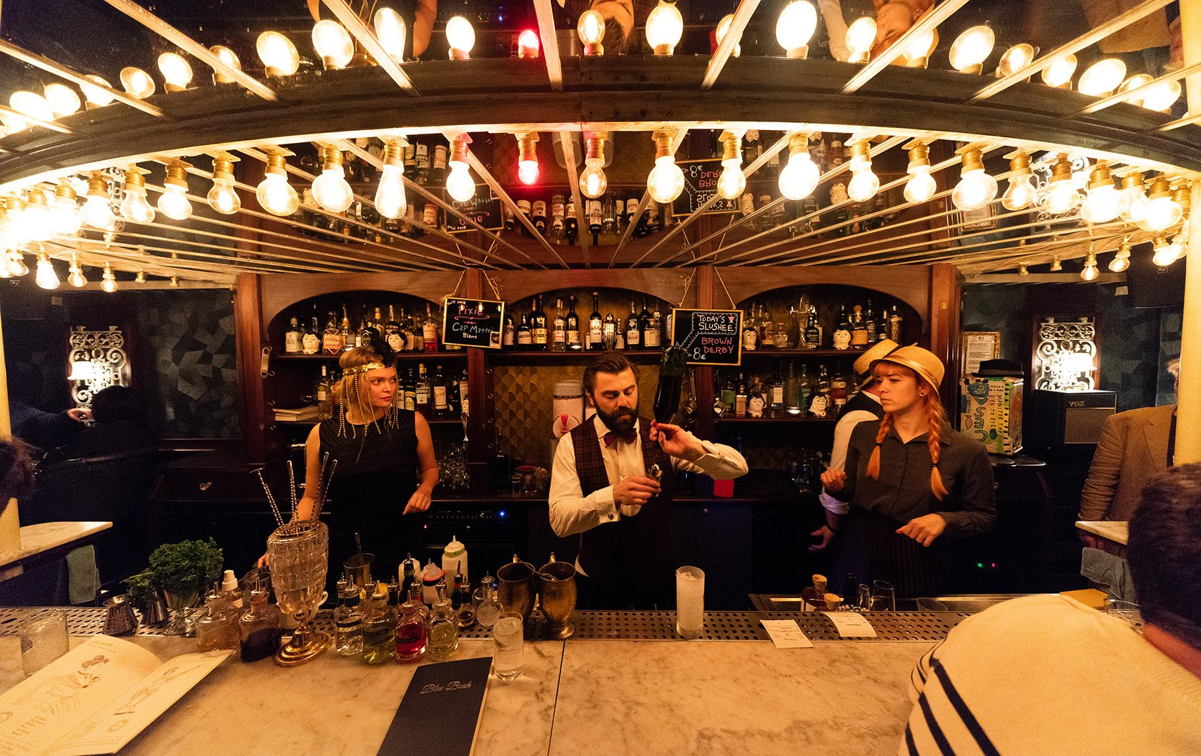 Lulu White- The Hottest Cocktail Bars in Paris