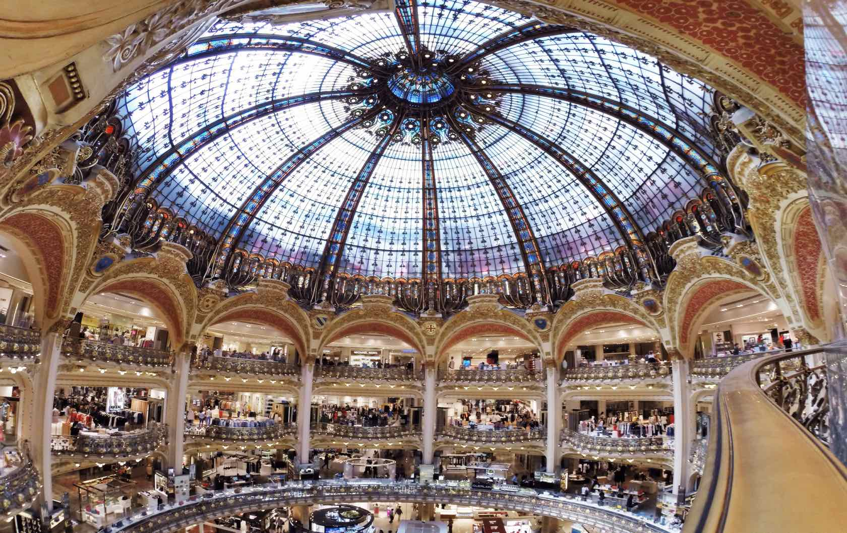Discovering the Marvelous Department Stores in Paris by Paris Perfect Galeries Lafayette