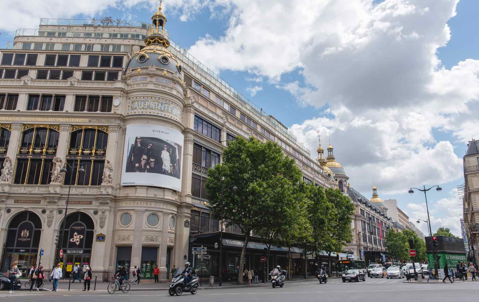 Discovering the Marvelous Department Stores in Paris by Paris Perfect Printemps