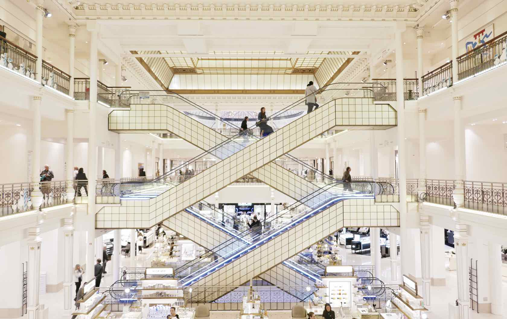 Discovering the Marvelous Department Stores in Paris by Paris Perfect Le Bon Marche