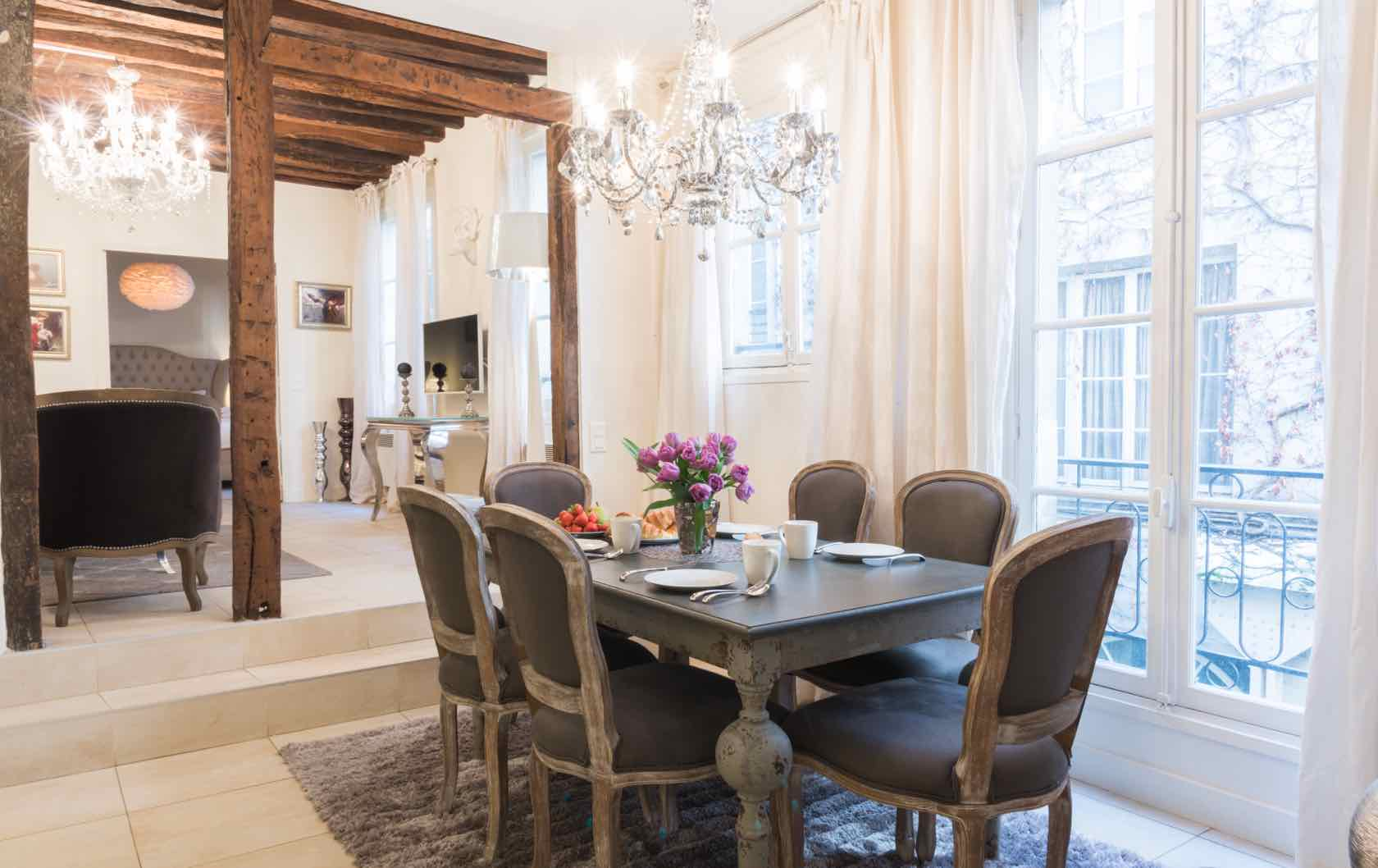 See our Long-Term Furnished Rentals in Paris by Paris Perfect Saint-Péray
