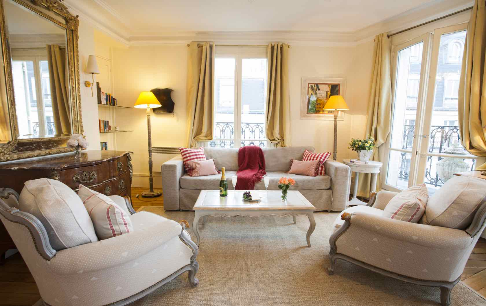 See our Long-Term Furnished Rentals in Paris by Paris Perfect Sancerre