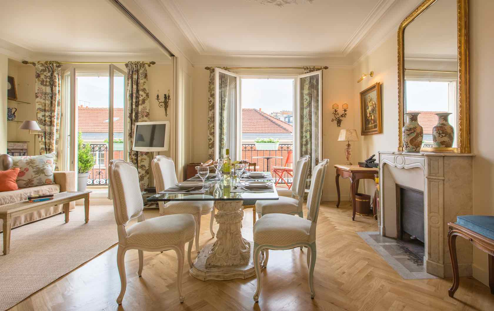 See our Long-Term Furnished Rentals in Paris by Paris Perfect Chardonnay