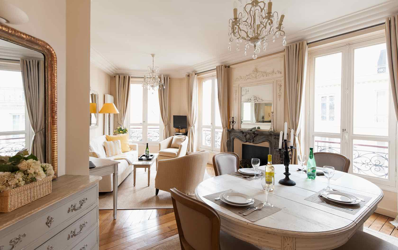 See our Long-Term Furnished Rentals in Paris by Paris Perfect Cotes du Rhone