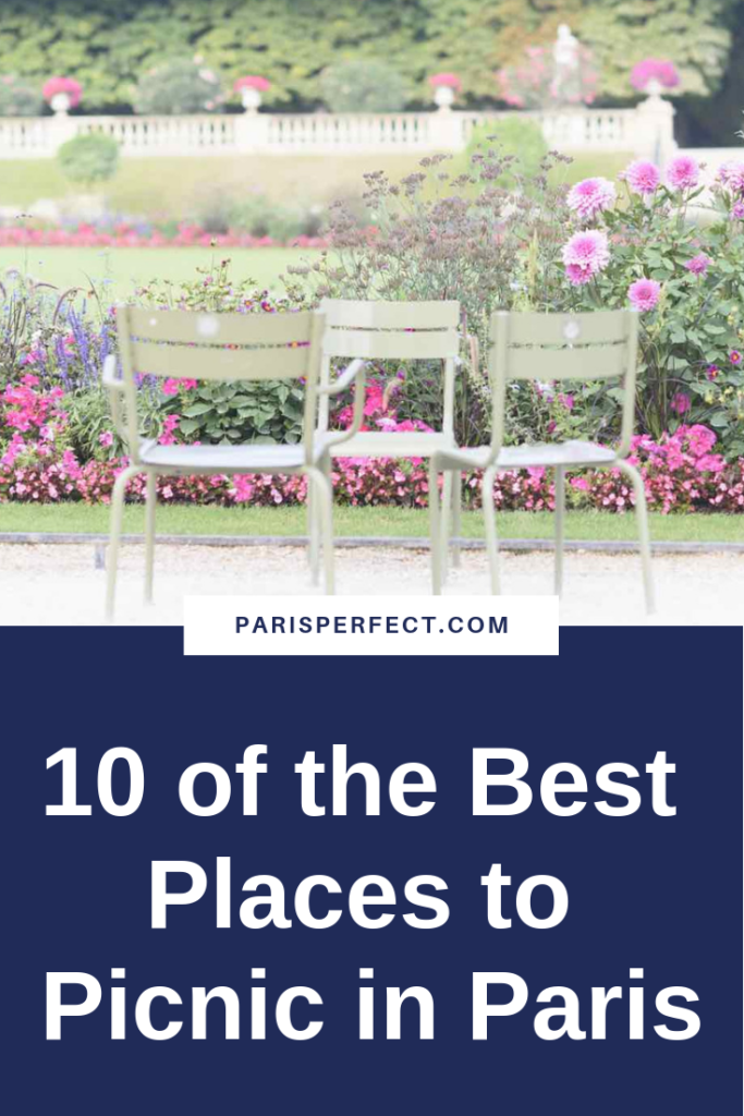 10 of the Best Places to Picnic in Paris by Paris Perfect