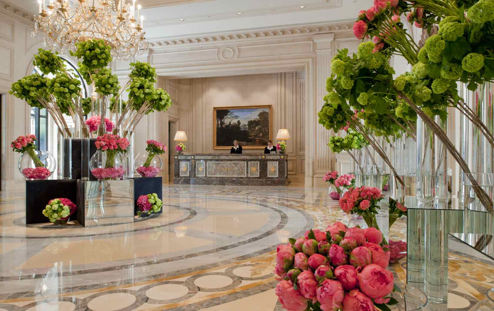 Where to See Spring Flowers in Paris by Paris Perfect Four Seasons George V Flowers