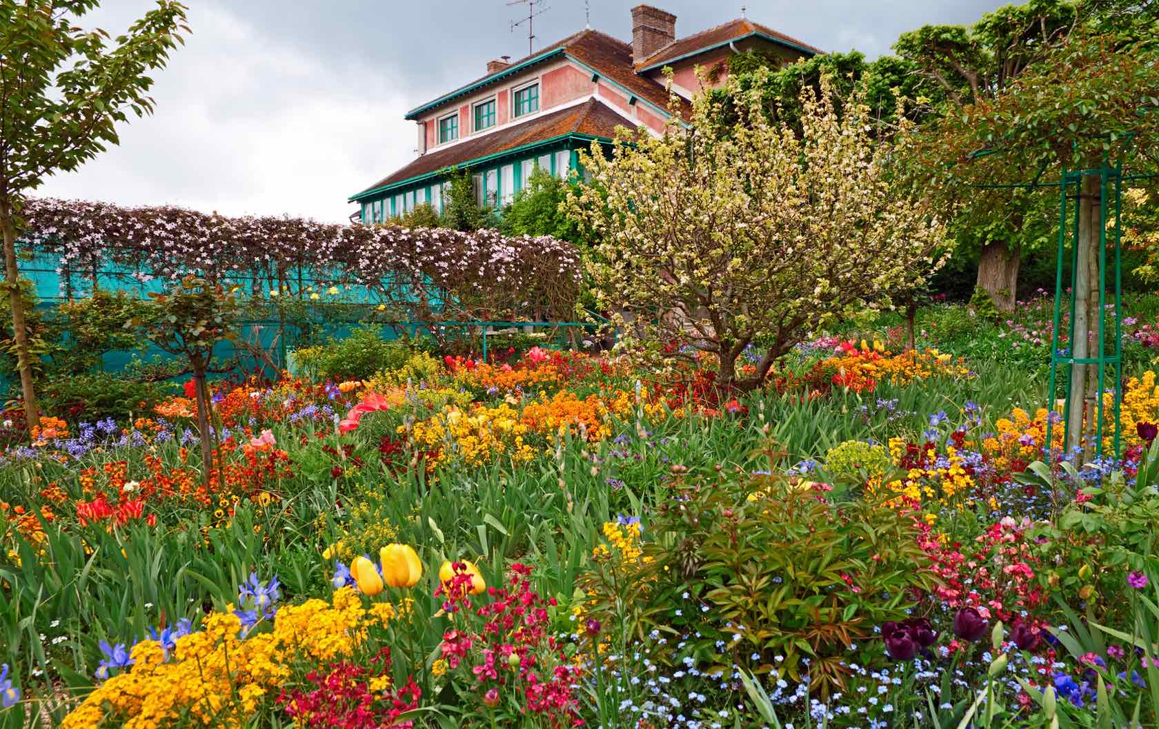 Where to See Spring Flowers in Paris by Paris Perfect Giverny Monet's Gardens