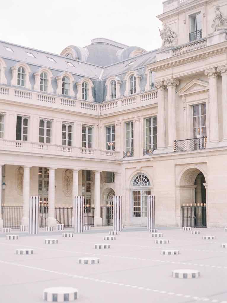 Palais-Royal Columns Paris Perfect