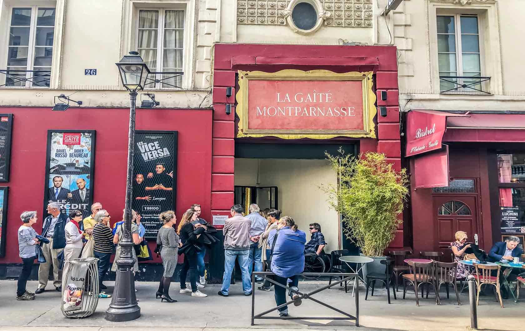 The Perfect Montparnasse Guide: A Value on the Left Bank of Paris Theater