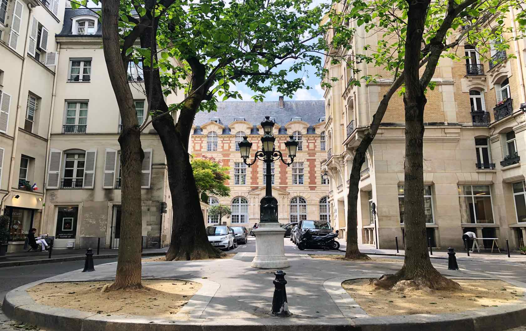 Most Beautiful Squares in Paris Place de Furstenberg