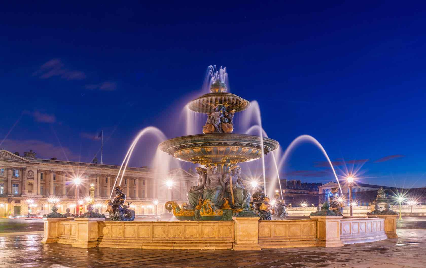 Place de la Concorde beautiful squares in Paris