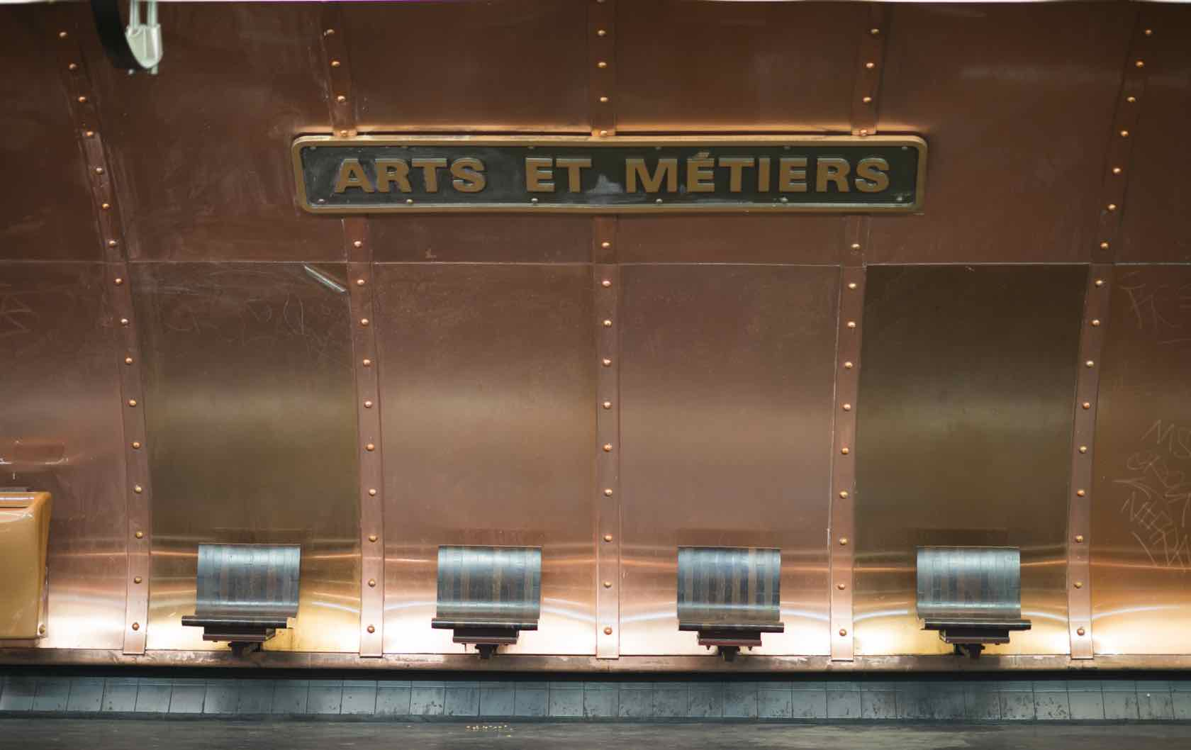 Paris Tips Metro Arts et Metiers
