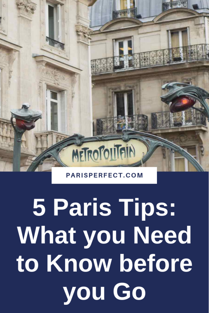 Paris Tips