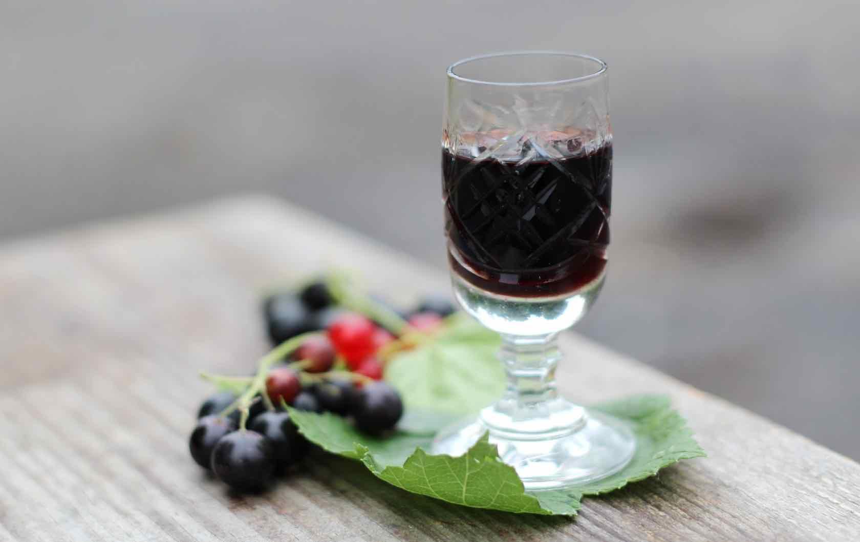 Crème de Cassis French spirits